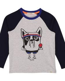FW19 Chandail à Manches Longues Tête de Chien de Billybandit - Dog Head Sweater
