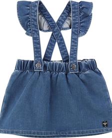 FW19 Jupe à Bretelles de Carrément Beau - Stapless Skirt