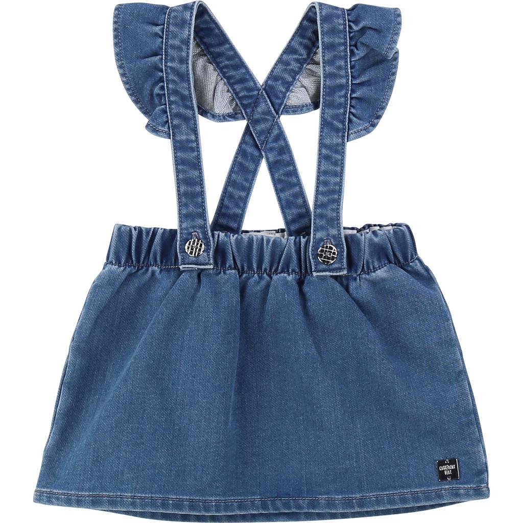 Carrément Beau FW19 Jupe à Bretelles de Carrément Beau - Stapless Skirt