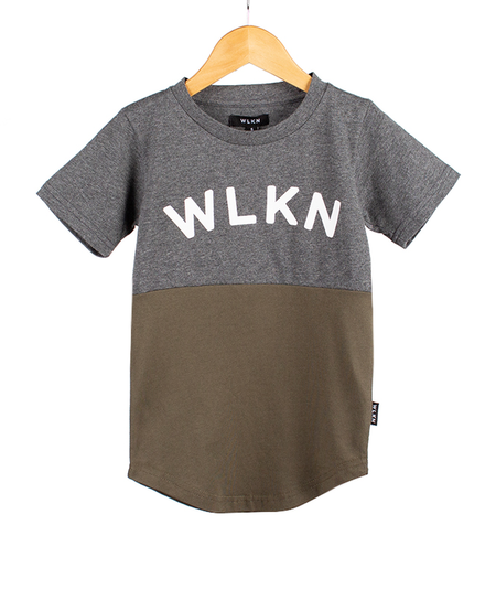 FW19 Junior Arch Split T-Shirt de WLKN