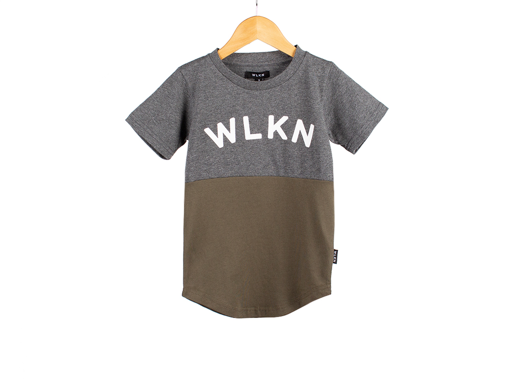 WLKN FW19 Junior Arch Split T-Shirt de WLKN