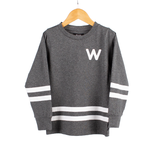 WLKN FW19 Junior Rounded Arch LS T-Shirt de WLKN