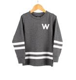 WLKN FW20 Junior Rounded Arch LS T-Shirt de WLKN