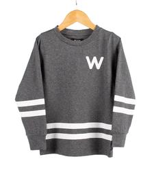 FW19 Junior Rounded Arch LS T-Shirt de WLKN