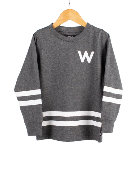 FW19 Junior Rounded Arch LS T-Shirt de WLKN