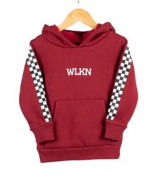 FW19 Junior Checker Hoodie de WLKN