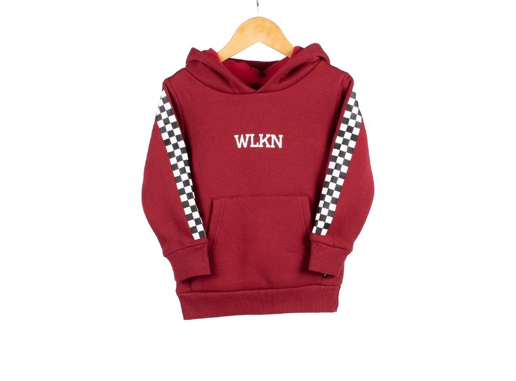 WLKN FW19 Junior Checker Hoodie de WLKN