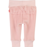 Billieblush FW19 Pantalon En Molleton Velour avec Volants en Tulle au Dos de BillieBlush - Winter Velvet Pants With Fancy Back