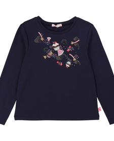 FW19 Chandail à Manches Longues avec Imprimés Bonbons de BillieBlush - Winter Candy Printed Tshirt