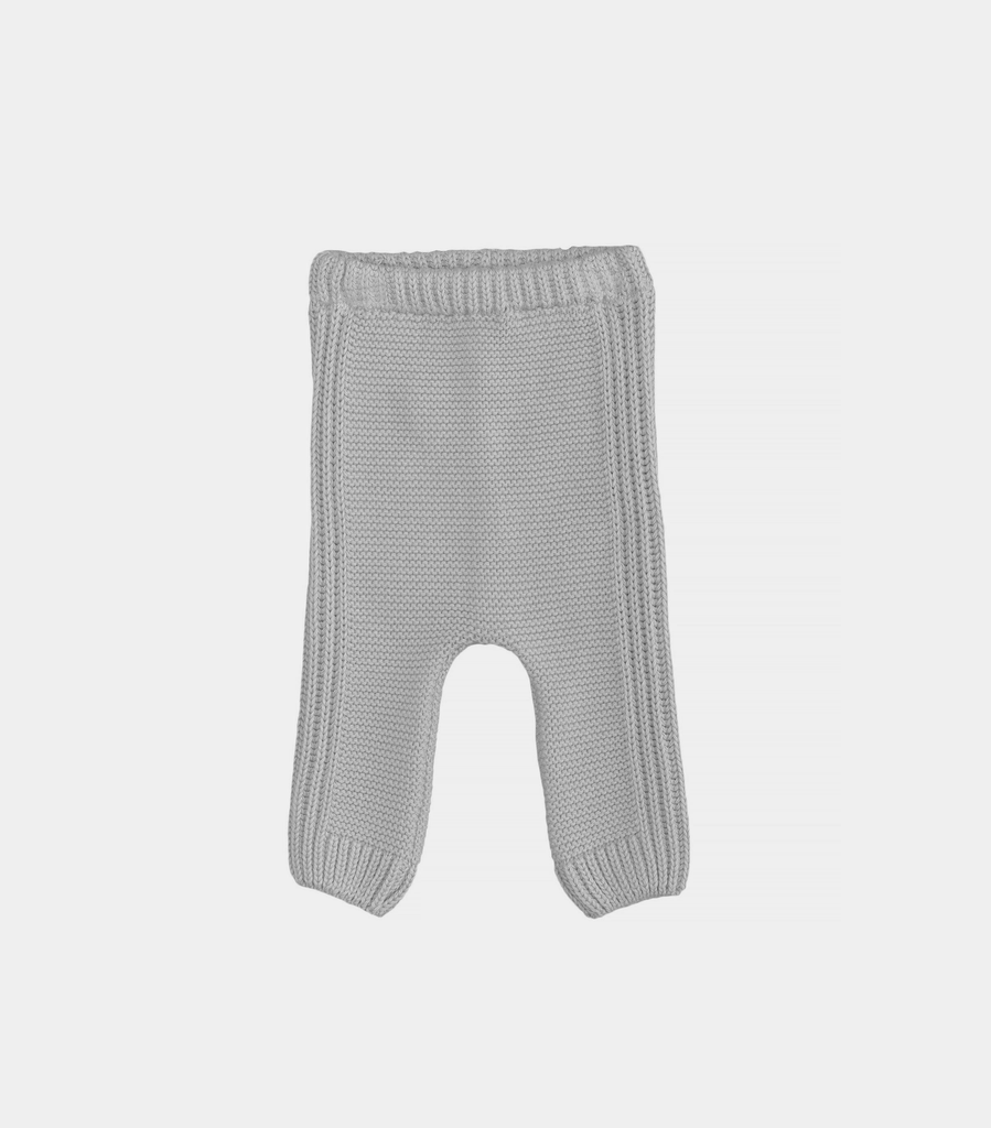 Laranjinha FW19 Pantalon en Maille Tricotée de Laranjinha - Winter Knitted Babygrow Pants