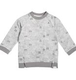 Miles Baby FW19 Pull en Molleton Léger à Manches Longues et Motifs Géométriques de Miles Baby - Winter Sweater