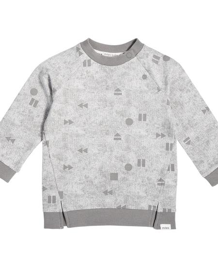FW19 Pull en Molleton Léger à Manches Longues et Motifs Géométriques de Miles Baby - Winter Sweater