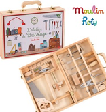 Moulin Roty L'atelier de Bricolage de Moulin Roty - Tool Box Set