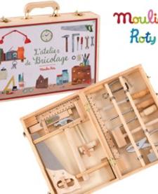 L'atelier de Bricolage de Moulin Roty - Tool Box Set