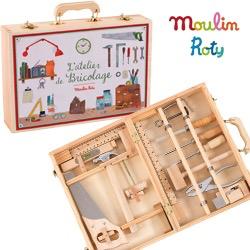 Moulin Roty L'atelier de Bricolage de Moulin Roty - Tool Box Set
