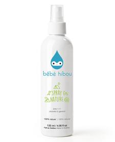 Huiles Essentielles Extérieur (Anti-Moustique) de Bébé Hibou / Bug Spray