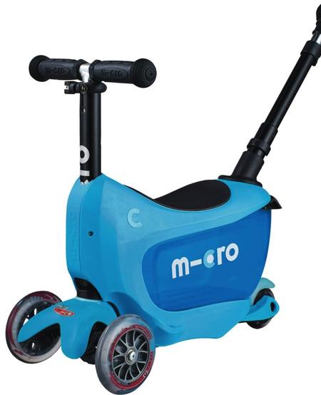 MICRO Mini2Go Deluxe Plus Bleu de Kickboard