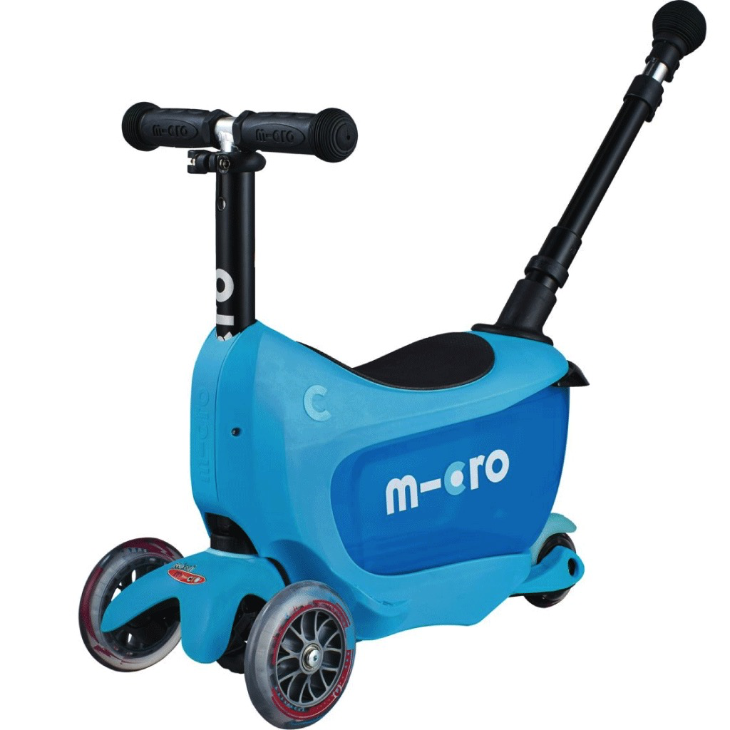 Micro MICRO Mini2Go Deluxe Plus Bleu de Kickboard