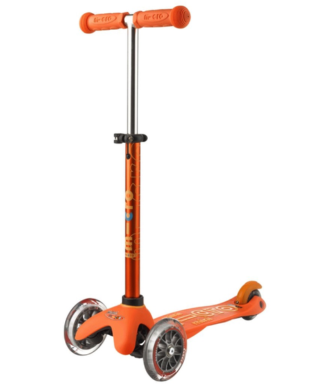 Mini MICRO Deluxe Orange de Kickboard