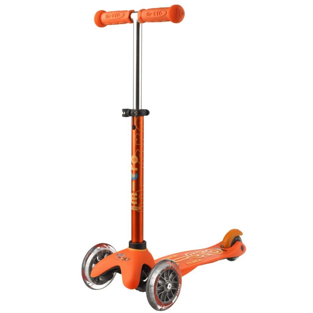 Micro Mini MICRO Deluxe Orange de Kickboard