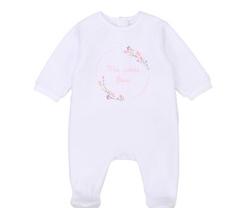 Carrément Beau FW20  Pyjama ma petite fleur blanc /white pyjamas ma petite fleur