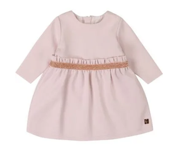 Carrément Beau FW20 Robe litchi rose /Litchi pink dress