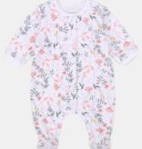 Carrément Beau FW20 Pyjama blanc fleur roses/Pink flowers white pyjamas
