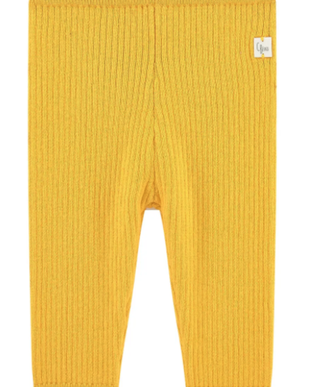 FW20 Leggins Jaune or /Wicker gold leggins