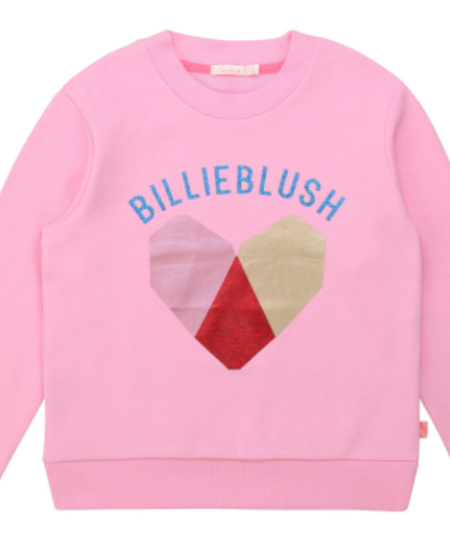 FW20 Sweat molleton coeur rose friandise /sweat heart pink candy