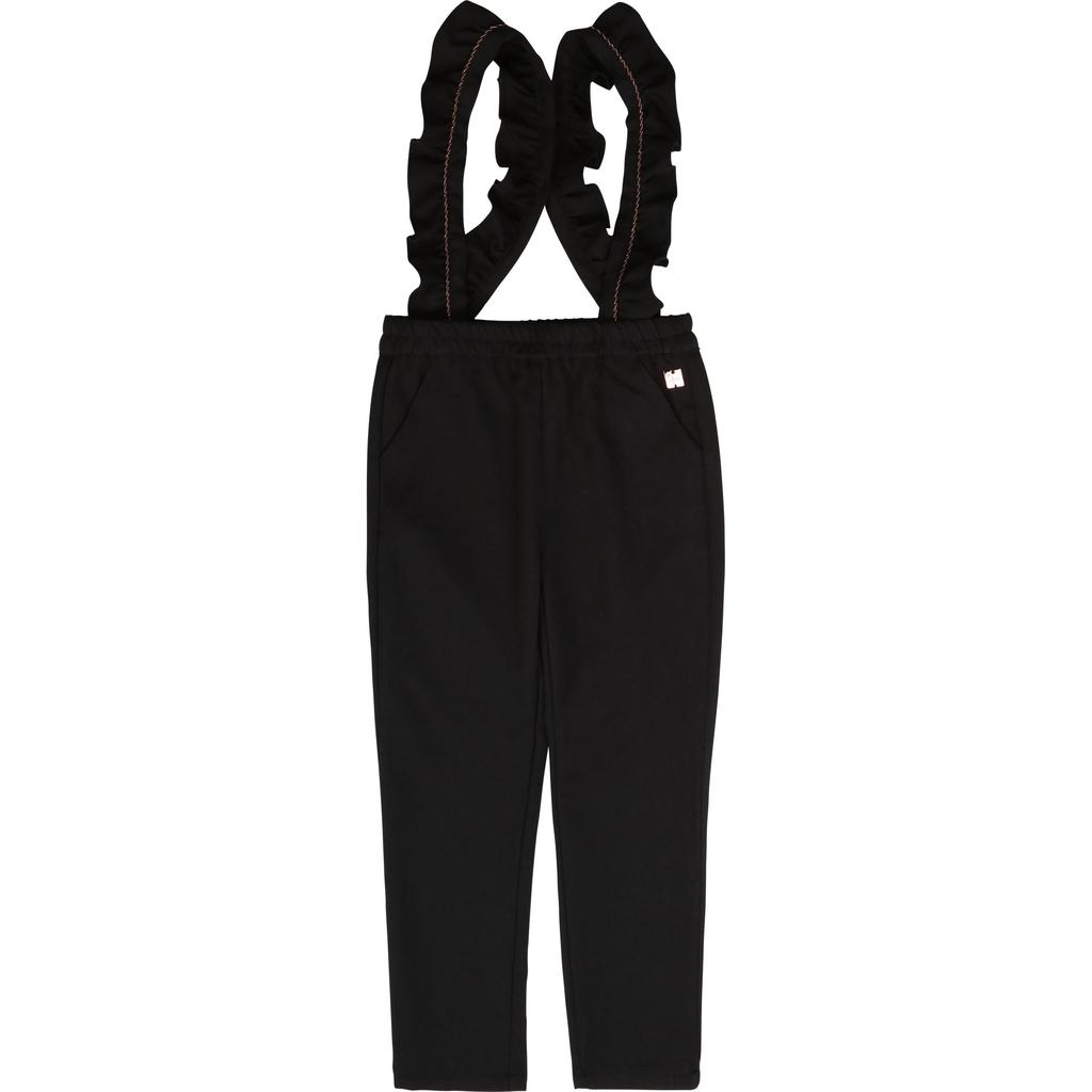 Carrément Beau FW20 pantalon a Bretelles Charbon/Charcoal suspender pants