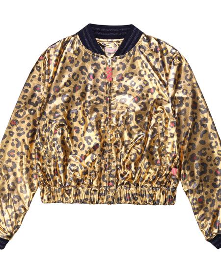 FW20 Cardigan léopard doré/Gold cardigan