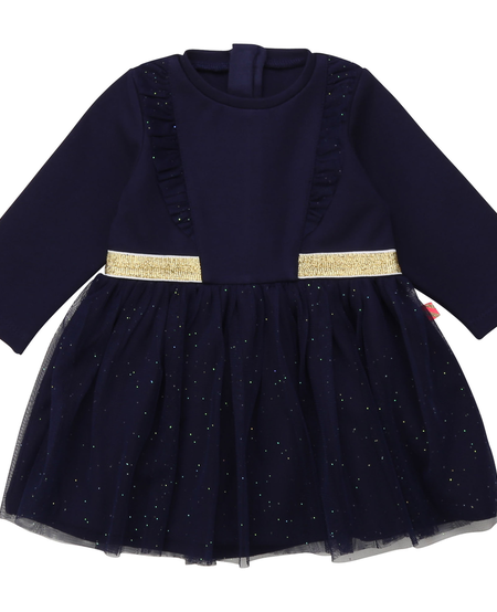 FW20 Robe indigo bleu/Blue indigo dress