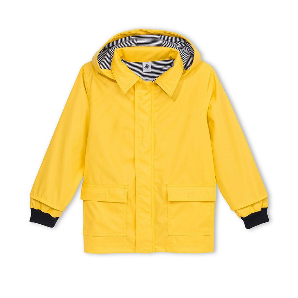 Petit Bateau FW20 Imperméable jaune/Yellow raincoat