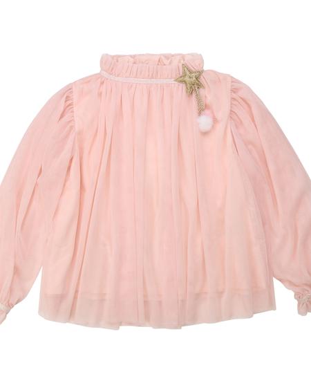 FW20 Blouse de Cérémonie rose pâle/ceremony blouse light pink
