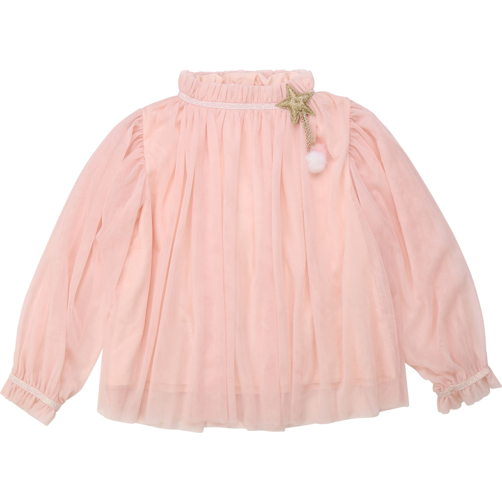 Billieblush FW20 Blouse de Cérémonie rose pâle/ceremony blouse light pink
