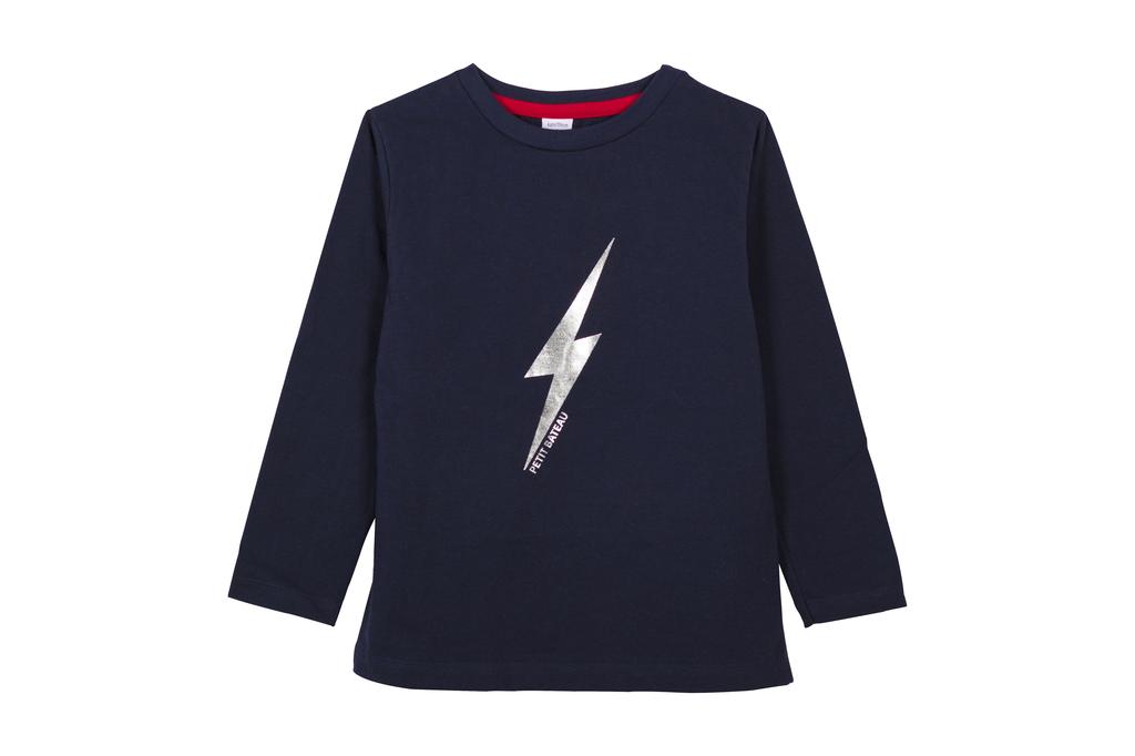 Petit Bateau FW20 T-Shirt Eclair/Lightning T-Shirt
