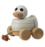 Hevea Jouet en bois Canard à tirer/ Wooden Duck Pull-Toy