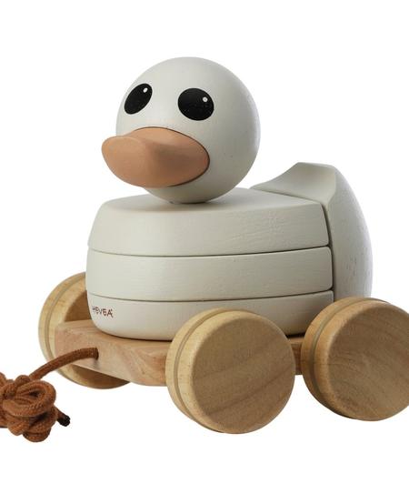 Jouet en bois Canard à tirer/ Wooden Duck Pull-Toy