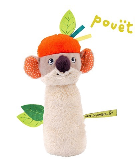 Hochet Pouet Dans la jungle Moulin Roty/ Koco Squeaky Toy