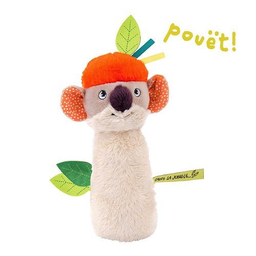 Moulin Roty Hochet Pouet Cheval Moulin Roty/ Horse Squeaky Toy
