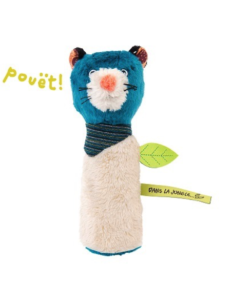 Hochet pouet Zimba<br />Zimba squeaky toy Moulin Roty