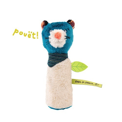 Moulin Roty Hochet pouet canard<br /> Duck squeaky toy Moulin Roty