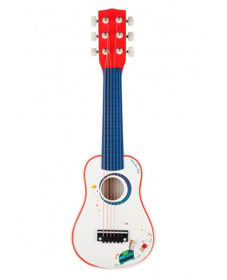 Guitare de Moulin Roty / Guitar Moulin Roty