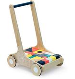 Vilac Chariot de Cubes de Vilac - Wooden Walker