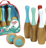 Vilac Jeu de quilles en bois de Vilac - Indoor / outdoor wooden bowling set
