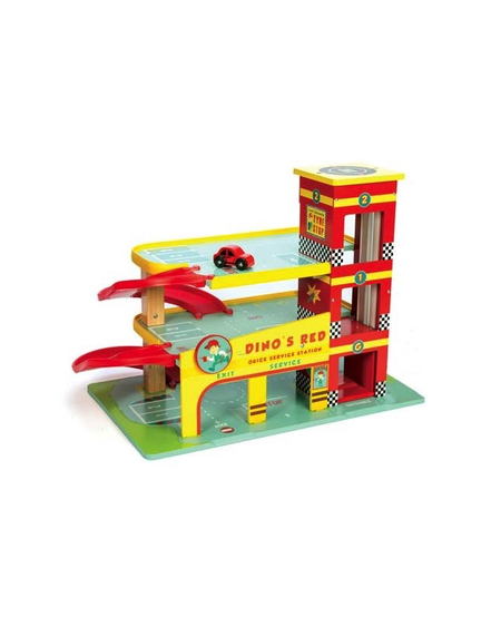 Le Garage de Dino de Le Toy Van - Dino's Garage