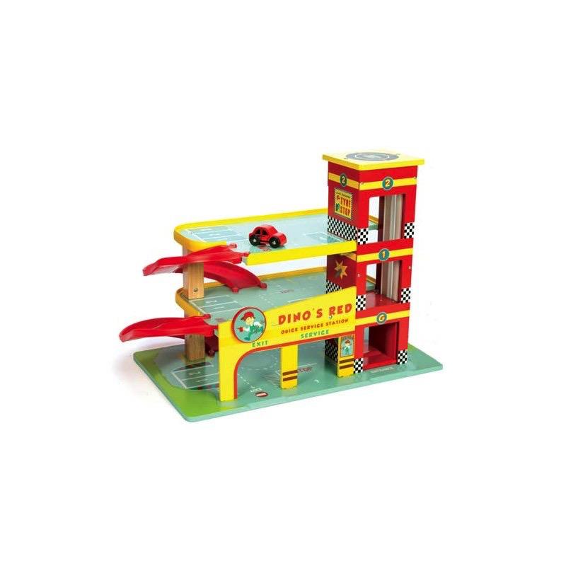 Le Toy Van Le Garage de Dino de Le Toy Van - Dino's Garage
