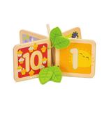 Le Toy Van Livre en Bois Je compte Jusqu'à 10 de Le Toy Van 1-2ans+
