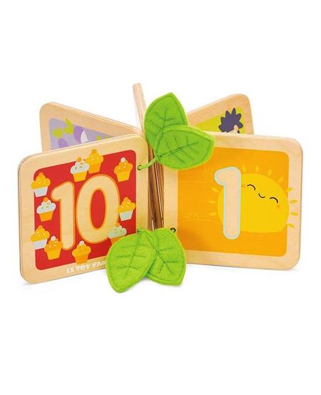 Livre en Bois Je compte Jusqu'à 10 de Le Toy Van 1-2ans+