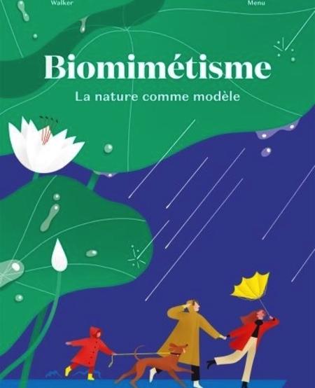 Livre «Biomimétisme » de Emmanuelle Walker et Séraphine Menu. Les éditions La Pastèque, 72 pages, 8+